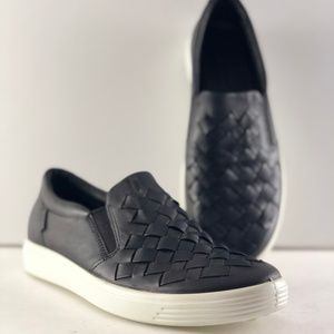 Ecco Soft 7 Woven Slip-on Shoes